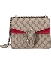 Gucci Dionysus Medium Shoulder Bag - Natural