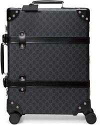 Gucci Valise cabine à motif gg globe-trotter - Noir