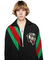 Gucci Collana con croce G Quadro - Multicolore
