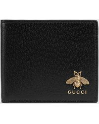 Gucci - グッチ〔アニマリエ〕レザー ウォレット - Lyst