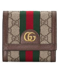 Gucci - Ophidia GG Wallet - Lyst