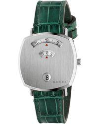 Gucci Grip Uhr, 35 mm - Mehrfarbig