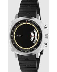 Gucci - 【公式】 (グッチ)〔グリップ〕ウォッチ(40 Mm)スチールundefined - Lyst