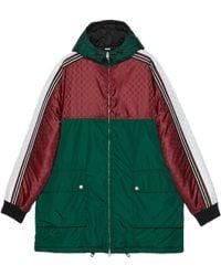Gucci GG Jacquard Nylon Jacket - Green