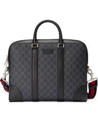 Gucci Mallette suprême GG - Noir