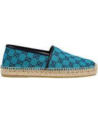 Gucci GG Multicolor Espadrille - Blau