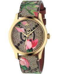 Gucci G Timeless Uhr 38 mm - Grün