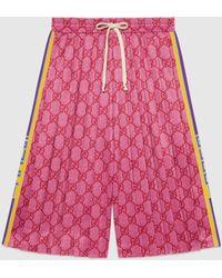 Gucci グッチGGテクニカルジャージー ショートパンツ - マルチカラー