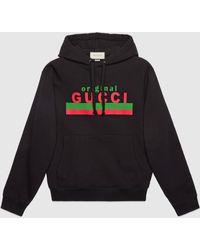 """Gucci - グッチ""""original """" プリント スウェットシャツ - Lyst"""