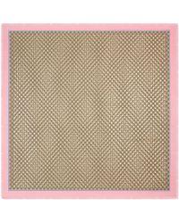Gucci - Modal Silk Shawl With GG Bees Motif - Lyst