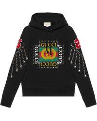 Gucci - Sudadera con Logo y Cristales - Lyst