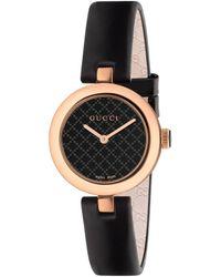 Gucci Reloj Diamantissima, 32mm - Negro