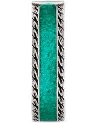 Gucci Bague avec détail gg - Vert