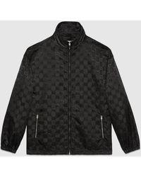 Gucci Off The Grid Jacke mit Reißverschluss - Schwarz