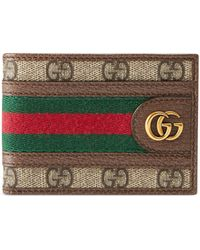 Gucci Ophidia GG Coin Wallet - Natural