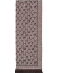 Gucci Écharpe en jacquard de laine GG - Neutre