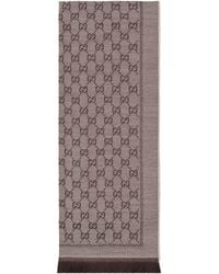 Gucci Wool GG Jacquard Scarf - Natural