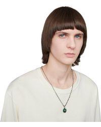 Gucci Garden Halskette aus Silber - Mettallic