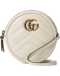 Gucci GG Marmont Mini Bag - White