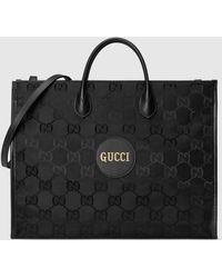Gucci 【公式】 (グッチ) Off The Grid トートバッグブラック GG Econyl®ブラック