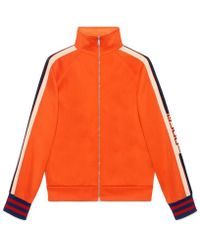 Gucci - Technical Jersey Jacket - Lyst