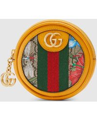 Gucci - グッチ〔オフィディア〕GGフローラ コインケース - Lyst