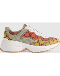 Gucci Rhyton GG Multicolor sneaker - Gelb