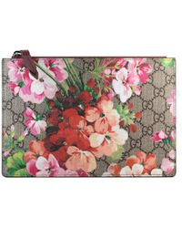 Gucci - Gg Blooms Pouch - Lyst