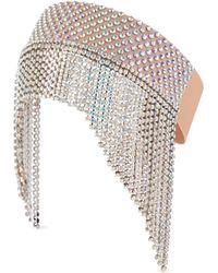 Gucci - Kopfbedeckung mit Kristallen - Lyst