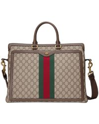 Gucci - Ophidia GG Briefcase - Lyst