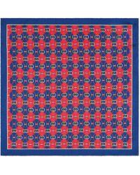 Gucci - Einstecktuch mit GG Rhombus-Print - Lyst