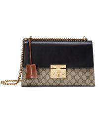 c68ae891c4 Gucci Tian Padlock Shoulder Bag - Lyst
