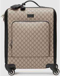 Gucci Handgepäckkoffer aus GG Supreme - Natur