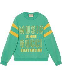 Gucci 100 Cotton Sweatshirt - Green
