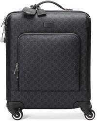 Gucci GG Supreme Suitcase - Black