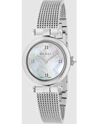 Gucci Diamantissima Uhr 27mm - Mettallic