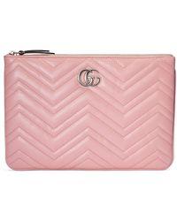 Gucci GG Marmont Täschchen - Pink