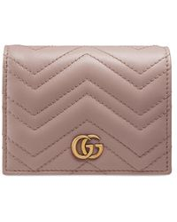 Gucci Portefeuille porte-cartes gg marmont - Multicolore