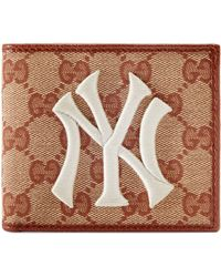 Gucci - Original GG Canvas Wallet With New York Yankees Patch��� - Lyst