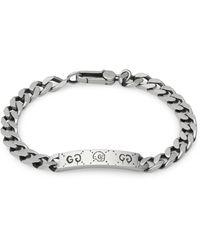 Gucci Bracelet chaîne en ghost - Métallisé
