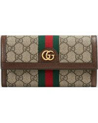 Gucci - グッチ〔オフィディア〕GG コンチネンタルウォレット - Lyst