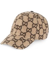 Gucci Gorra de béisbol de lana con GG - Neutro