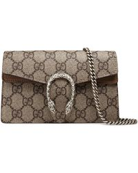 Gucci - Dionysus Super-Mini-Tasche aus GG Supreme - Lyst