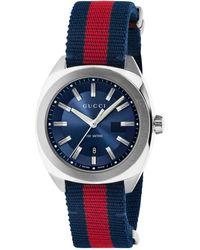 Gucci Reloj GG2570, 41mm - Azul