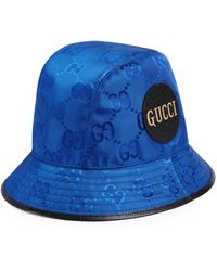 Gucci Sombrero fedora Off The Grid - Azul