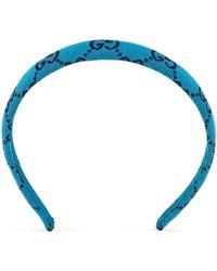 Gucci Fascia per capelli - Blu