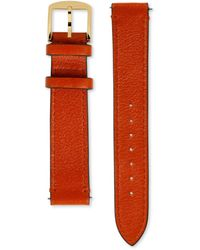 Gucci Correa de piel para el reloj Grip, 38 mm - Naranja