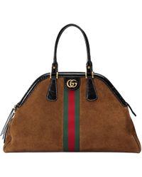 Gucci Großer Shopper mit Henkeln RE(BELLE) - Braun