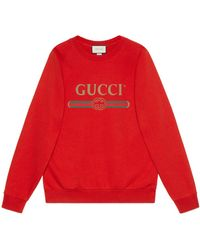 8da52dc3241 Lyst - Gucci Oversize Sweatshirt With Sequin Snow White in White