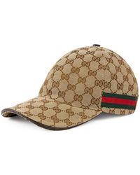 2125b5402 Gucci Men's Original GG Baseball Hat in Brown for Men - Save 10% - Lyst